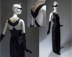 Вечернее платье из черного сатина Юбер де Живанши создал специально для своей музы Одри Хепберн - именно в нем знаменитая актриса блистала в картине «Завтрак у Тиффани» (1961 год).
