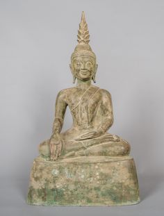 "19th Century Laos Enlightenment Buddha - 52cm (21"")"