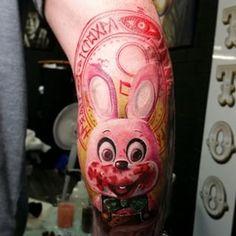 silent hill tattoo bunny