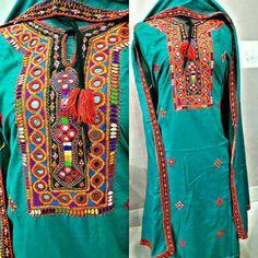 Sindhi Dress, Balochi Dress, Hand Embroidery Dress, Indian Attire, Cutwork, Indian Designer Wear, Indian Dresses, Traditional Dresses, Party Wear