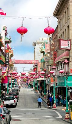 Chinatown ~ San Francisco, California, U.S