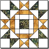 King David's Crown  Block pattern and instructions