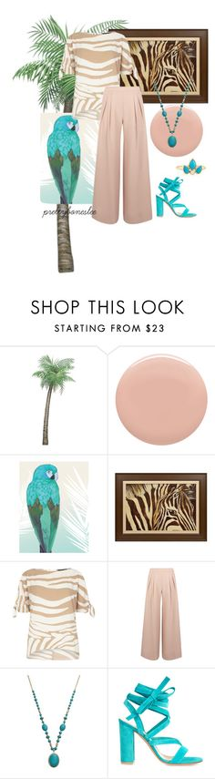"""""""Back To Nature"""" by prettyboneslee ❤ liked on Polyvore featuring Givenchy, Dorothy Perkins, Antipodium, Gianvito Rossi and ZoÃ« Chicco"""