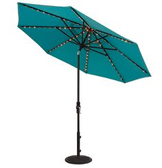 NEW Starlight Collar Tilt Market Umbrella by Treasure Garden [need this for my patio set in the courtyard].
