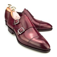 Carmina Shoes. #mens #leather #shoes The color is really vibrant on the monks. leathercore.com
