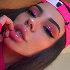 beautiful makeup looks Glam Makeup, Cute Makeup, Pretty Makeup, Skin Makeup, Makeup Inspo, Makeup Inspiration, Full Face Makeup, Makeup Goals, Makeup Tips