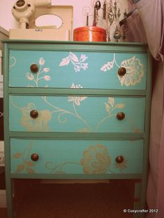 Revamped chest of drawers