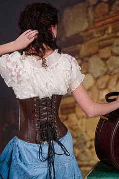 ... . | Steampunk | Pinterest | Corsets, Steel Boned Corset and Blouses