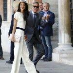 George Clooney e Amal Alamuddin sposi: A Venezia il sì ufficiale al Municipio di Ca' Farsetti