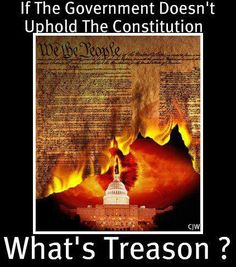 How far is too far, when the government is violating the Constitution and the laws they swore to protect and defend?