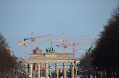 Brandenburger Tor - von der anderen Seite - Mrz 2014