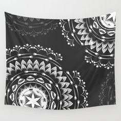 Mandala tapestry wall tapestry hippie bohemian tapestry by Famenxt