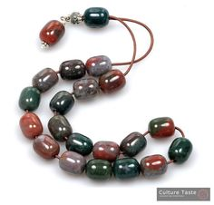 Agate Worry beads.