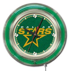 Use this Exclusive coupon code: PINFIVE to receive an additional 5% off the Dallas Stars Neon Logo Clock at SportsFansPlus.com