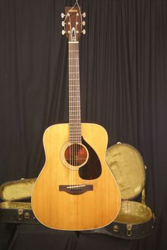 yamaha fg 150 nippon gakki red label acoustic guitar made in japan ca 1972 acoustic cas. Black Bedroom Furniture Sets. Home Design Ideas