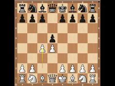 Chess Openings: The Queen's Gambit - YouTube (How to play in a game of chess)