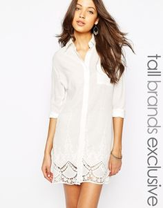 Enlarge Glamorous Tall Shirt Dress