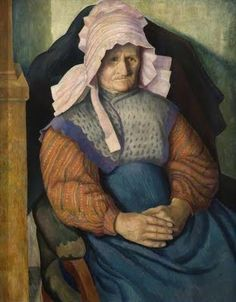 British Paintings: Dora Carrington - Mrs Box 1919