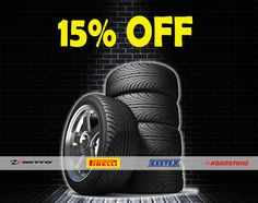Don't forget – 15% off on #Nitto #Pirelli #Zeetex and #Roadstone tires valid until September 30, 2014!  Print the coupons from: https://www.myzdegree.com/deals