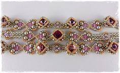 """Armband """"Aunt Leni"""" von Aminas Schatzkiste auf DaWanda.com"""