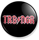 chapa turbonegro rock band  button  Www.rockerbuttons.com