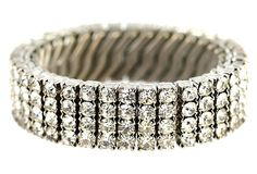 Ice Rhinestone Expansion Bracelet $149   SOLD