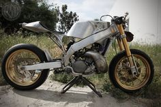 Roland Sands CR500 as featured in SIDEBURN #5