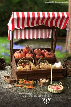 Hummingbird Miniatures: To Market, to market...