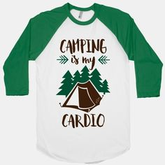 Campfires, booze, the great outdoors: who needs running when you've got camping? The only place worth running is into the woods! This awesome shirt looks great on anyone who loves camping, hiking,... | Beautiful Designs on Graphic Tees, Tanks and Long Sleeve Shirts with New Items Every Day. Satisfaction Guaranteed. Easy Returns.