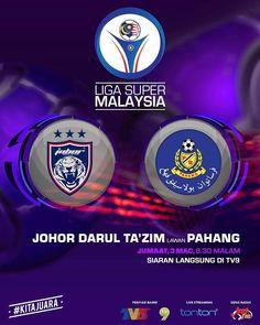 Live Streaming Johor JDT vs Pahang - JIWAROSAK.COM Tv, Television Set, Television