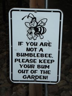 Funny sign I found at a local miniature golf place. I want to make one for my garden. Love Garden, Garden Ideas, Laughter The Best Medicine, Garden Quotes, Golf Humor, Garden Signs, Sign I, Funny Signs, Just For Laughs