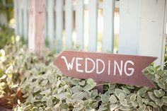 Cool wedding sign!
