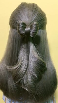Hairstyles Videos With Clips Ponytail - Hairstyles Box Braids Hairstyles, Kawaii Hairstyles, Easy Hairstyles For Long Hair, Braids For Long Hair, Elegant Hairstyles, Hairstyles Videos, Party Hairstyles, Wedding Hairstyles, Short Hair Styles Easy