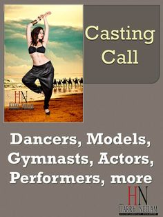 Casting Call (Sydney) for DANCERS, GYMNASTS, AERIALISTS  & CONTORTIONISTS, ACTORS, PERFORMERS