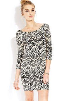 Worldly Girl Bodycon Dress | FOREVER 21 - 2000127100 Flattering Dresses, Stylish Dresses, Safari Outfits, Safari Clothes, Tribal Print Dress, Pretty Outfits, Pretty Clothes, Forever 21 Dresses, Street Wear