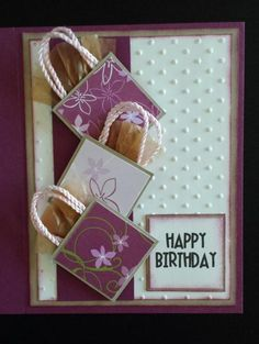 January Birthdays 2015 by Penny Strawberry - Cards and Paper Crafts at Splitcoaststampers
