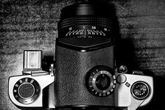 Old school of photography.