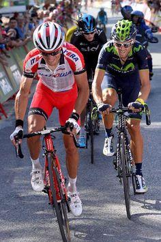 Vuelta a España 2014 - Stage 6: Benalmádena - Cumbres Verdes (La Zubia) 167.7km - Joaquim Rodriguez on the attack!