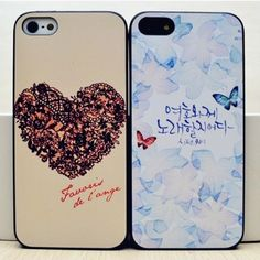 Fantasy Butterfly Printed Cover for Iphone5
