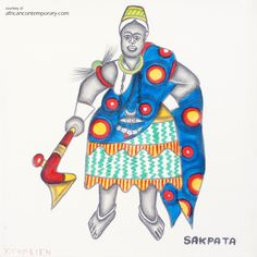 Contemporary African Art Gallery featuring Paintings, Drawings from Cyprien TOKOUDAGBA. Contemporary African Art, African Artists, National Museum, Art Gallery, Princess Zelda, Ceramics, Drawings, Paintings, Fictional Characters