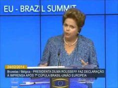 Discurso de Dilma em Bruxelas