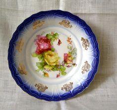Flow Blue Limoges Porcelain China Bowl❤❤❤