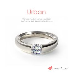 Urban is my style, either in rose gold or white gold