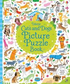 Show details for Cats and Dogs Picture Puzzle Book