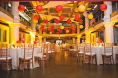 HUY - do you like the idea of adding soft lights on the wall (like the yellow one seen here) to add more of a glow to your reception? This could help cut down on decorating costs overall since it will light the whole reception room.