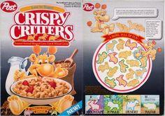 my son loved Crispy Critters