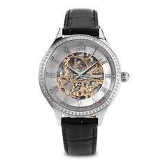 Princess Butterfly HL587LB Women Automatic Mechanical Watch #men, #hats, #watches, #belts, #fashion, #style
