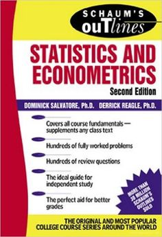 Schaum's Outline of Statistics and Econometrics - PDF Books