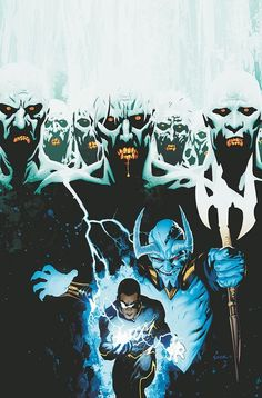 Black Lightning Blue Devil and zombies Justice League of America JLA Comic Book Covers, Comic Books Art, Comic Art, Mike Mignola, Buffy The Vampire Slayer, Black Lightning Static Shock, Dc Comics, Dr Fate, Justice League Dark