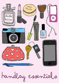 handbagessentials by mearawithe, via Flickr
